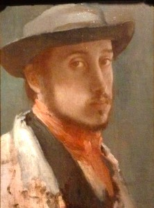 Eduard Degas, Self-portrait