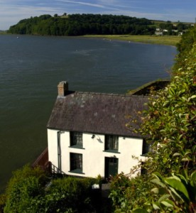 "The ""Boat House"" in Laugharne where the Thomas's lived"
